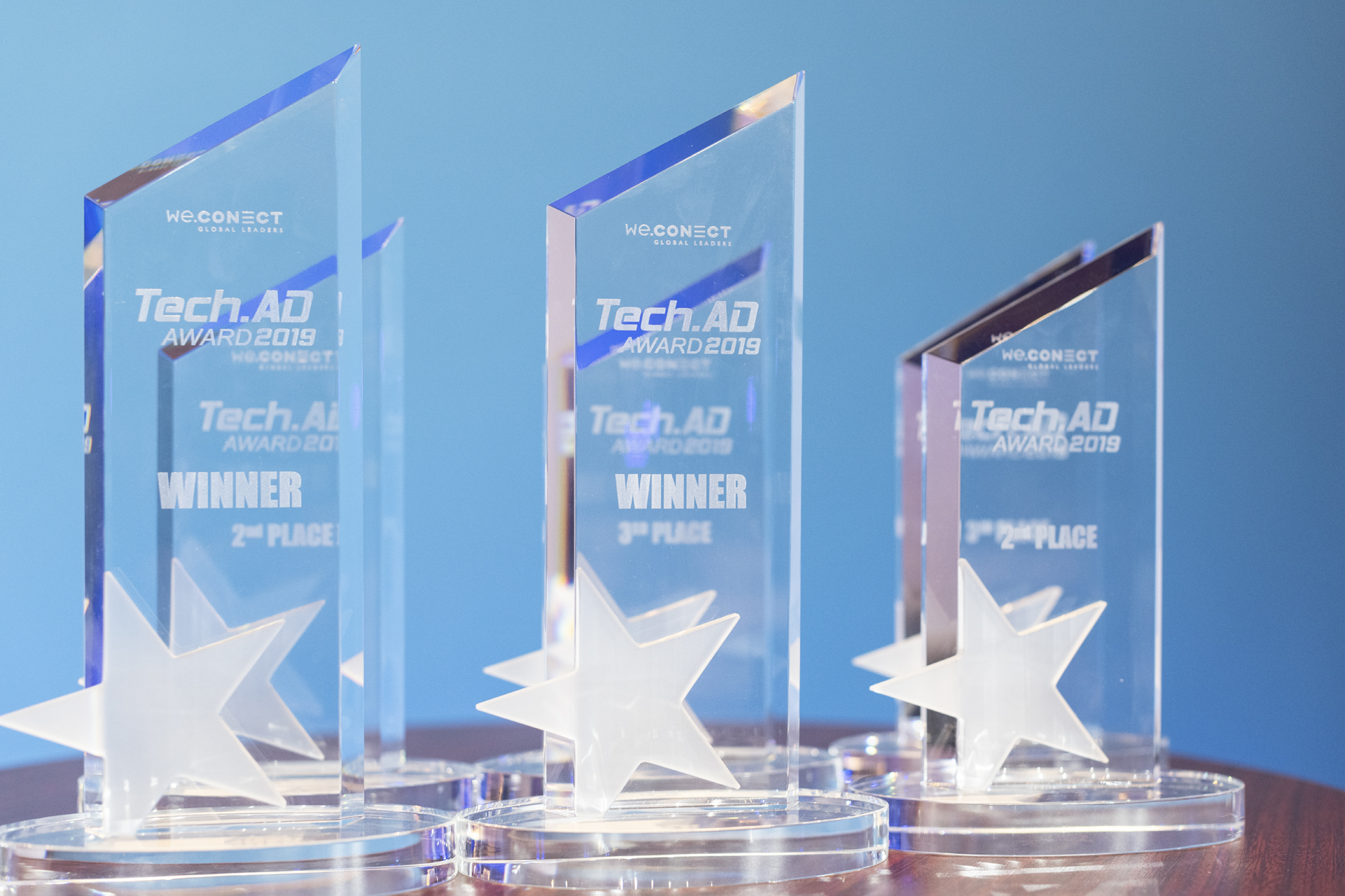 Award trophies Tech.AD USA